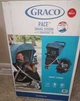 graco pace travel system new stroller + car seat in Fort Carson, Colorado