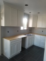Cabinets and Stone Ready for pickup in Riverside, California