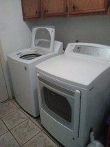 LG washer and dryer set in Kingwood, Texas