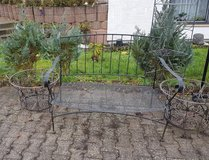 4 Metal pieces table set in Ramstein, Germany