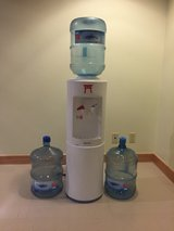 Water Cooler with 3 5gallon bottles in Okinawa, Japan