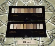 New L'ore'al eyeshadow palettes in Camp Lejeune, North Carolina