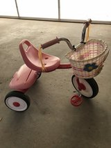 Radio Flyer tricycle with basket in Perry, Georgia