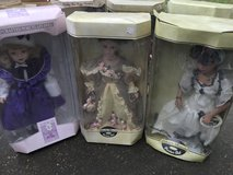 Porcelain dolls in Fort Polk, Louisiana