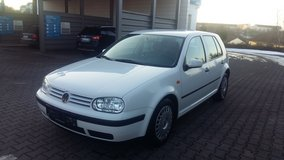 VW GOLF IV TDI-GUARANTEE BRAND NEW USAREUR INSPECTION in Baumholder, GE