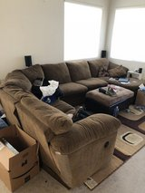 Large sectional couch in Travis AFB, California