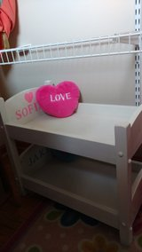 white wood Bunks Bed, Bitty Twins/ American Girls in Chicago, Illinois