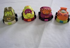 Just B and B You Softsided Toy Cars - Pull Back and Go -4 Cars in Joliet, Illinois
