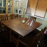 Kitchen table in Vacaville, California