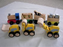 Assorted Lot of 7 Wooden Cars /Train/Trucks - Used - Very Good Condition in Joliet, Illinois