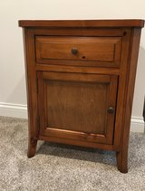 All Wood Side / Nightstand Table in Plainfield, Illinois