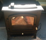 Wood Stove Electric Heater w/ Remote Control in 29 Palms, California