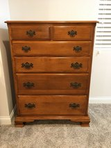 Ethan Allen-Antique Chippendale Style, 6-Drawer Tall Dresser/Chest in Plainfield, Illinois