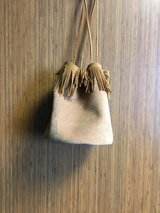 NEW handcrafted ROUND BuckSkin Purse in Kingwood, Texas