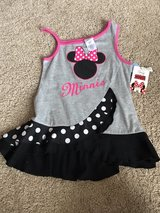 BRAND NEW Minnie Mouse tank, size 6/6X in Bolingbrook, Illinois