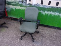 Gray Padded Office Chair in Fort Riley, Kansas