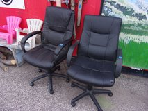 Black Padded Office Chair in Fort Riley, Kansas