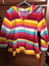 Girls Children's Place striped fleece pullover, 4T in Bolingbrook, Illinois