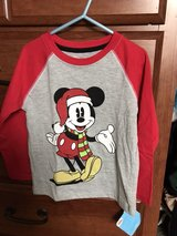 NEW holiday Mickey Mouse shirt, size 4T in Oswego, Illinois
