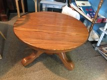 """Coffee table 36"""" round 19""""tall perfect work table for kids in The Woodlands, Texas"""