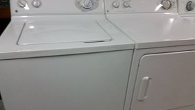 GE WASHER & DRYER SET . . 910 550 4038 . . 90DAY WARRANTY . .FREE LOCAL DELIVERY in Wilmington, North Carolina