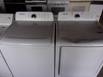 Samsung Super Capacity Matching Washer and Dryer Set in Fort Riley, Kansas