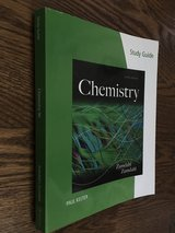 BRAND NEW-Study Guide for Zumdahl/Zumdahl's Chemistry, 9th / Edition 9 in Lockport, Illinois