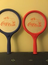 1998 Coke nerf paddles  coca cola bear collectible in Okinawa, Japan