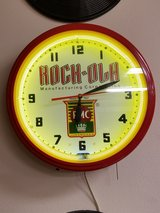 Vintage Rock Ola Neon Clock in Fort Leonard Wood, Missouri