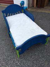 Toddler bed with mattress in Columbus, Georgia