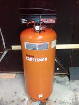Craftsman 60 gallon 6 hp upright air compressor in Pleasant View, Tennessee