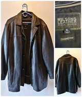 Big & Tall MENS XL WILSONS Leather Jacket in Vacaville, California