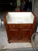 French Cabinet Marble Top in Stuttgart, GE