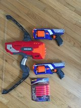 three nerf weapons in Beaufort, South Carolina