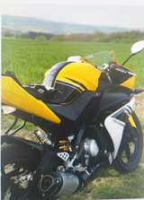 Motorcycle Yamaha YZF R125 excellent Condition in Ramstein, Germany
