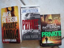 3 Private books by James Patterson in Stuttgart, GE