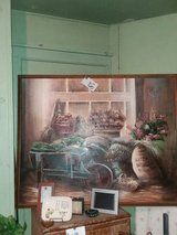vintage large oil painting in Baytown, Texas