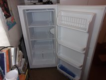 Small upright freezer excellant condition and runs perfect. No scraches or dents. in Warner Robins, Georgia