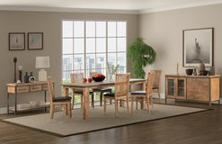 INDUS - Dining Set - New Model - price includes delivery - see VERY IMPORTANT below in Shape, Belgium