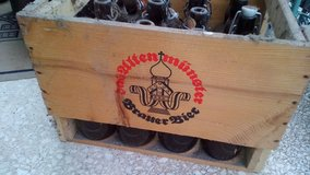complete Beer box from the 20´s in Ramstein, Germany