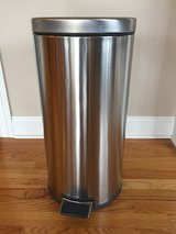 Stainless steel garbage can - need to pickup today in Joliet, Illinois