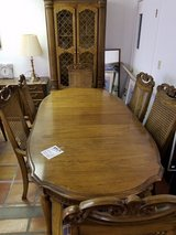 3 Piece Hutch,  6 seater Table,  Credenza in Alamogordo, New Mexico