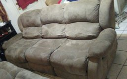3 Seat Recliner Couch in Fort Hood, Texas