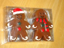 NEW gingerbread candles in St. Charles, Illinois