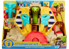 Imaginext serpent strike playsets new in box in Plainfield, Illinois