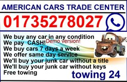 We buy any car in any condition We pay CASH! in Ramstein, Germany