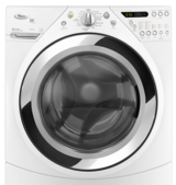 Whirlpool Duet stackable Front loading Washer and Electric dryer in Elgin, Illinois