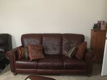 Brown Leather Sofa and  2 Chairs in Warner Robins, Georgia