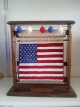 American Flagg from Silk and Acrylic Hand made in Stuttgart, GE