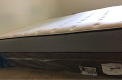 Brand new queen sized mattress along with spring board in DeKalb, Illinois